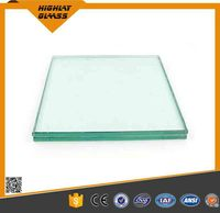 Customized Size Clear/tinted Glass 6.38mm 8.38mm 10.38mm Etc Laminated Glass Price/tempered Glass(flat/curve)