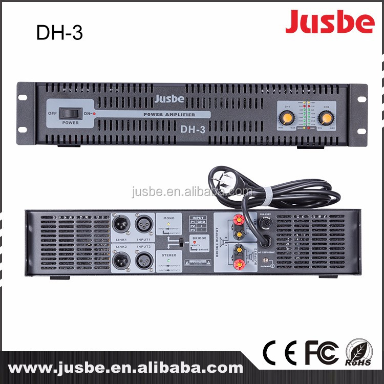 DH-3 Professional Multifunction power amplifier phase audio , harga power amplifier tasso