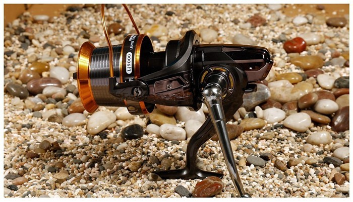 Saltwater Fishing Reel 12+1BB LJ9000 Left/Right Hand Big Game Fishing Reels Surf Deep Sea Fishing Reels