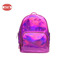 factory direct high quality custom kids school travelling leather backpack
