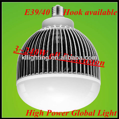 120w high power led globes lights lamp