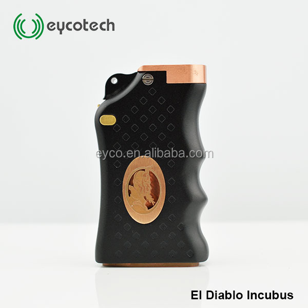 New product e cigarette mechanical box mod El Diablo Incubus mod
