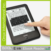 E Ink Ebooks Reader Support TTS Audio Books