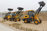 1 ton skid steer loader with attachments