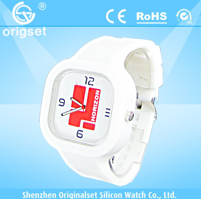 Newest 5ATM Waterproof TOP Quality Watch Custom Jelly watch Silicon Watch reloj