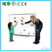 Tacteasy best cheap sliding white board with white board stand