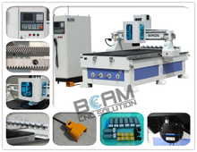 used cnc glass/wood door making router cutting machine