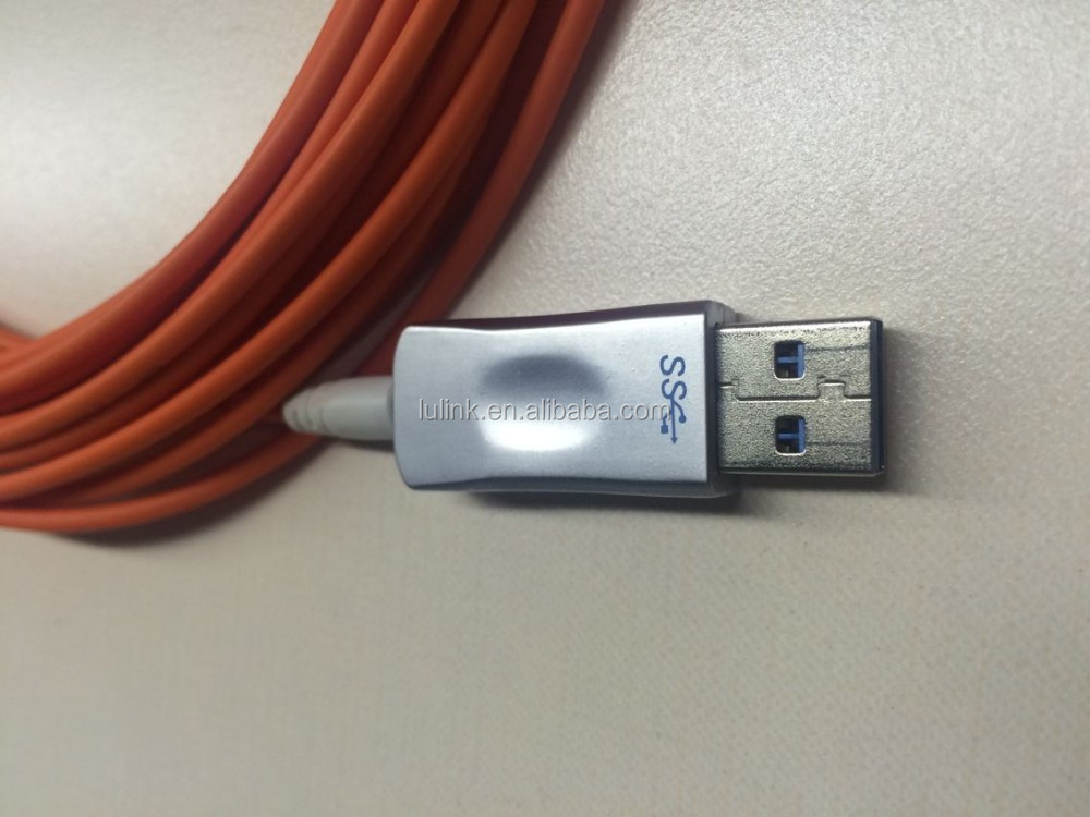 Multimode Fiber Optic USB 3.0 Extender,USB 3.0 Active Optical Cable