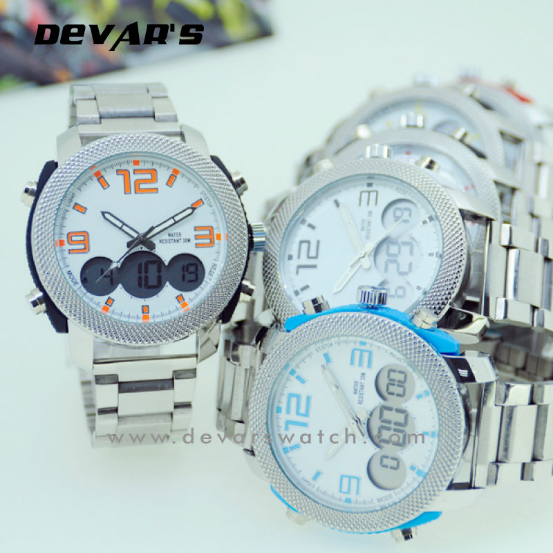 stainless steel high tech digital watches 2013