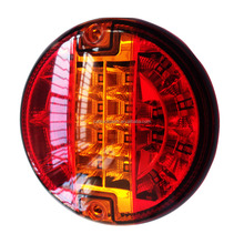 Hot Sale Parking Car 20leds Round Combination Tail Light 24v Trailer Indicator for truck tractors