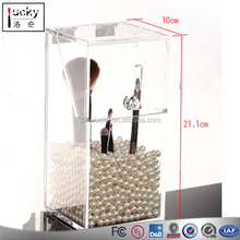 acrylic jewelry & cosmetic storage display boxes support drawing manufacture acrylic material cosmetic organizer