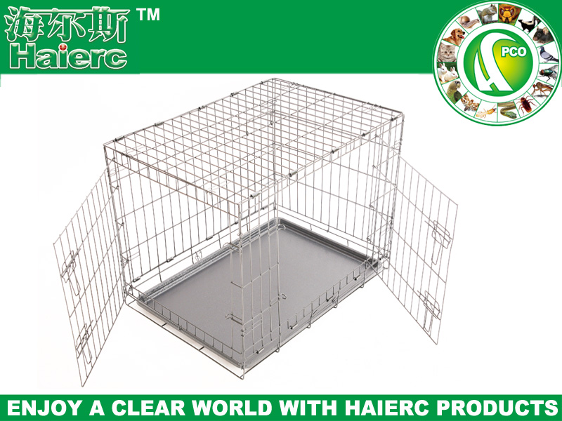 fold pet cage dog kennels for dog galvanized steel dog cage