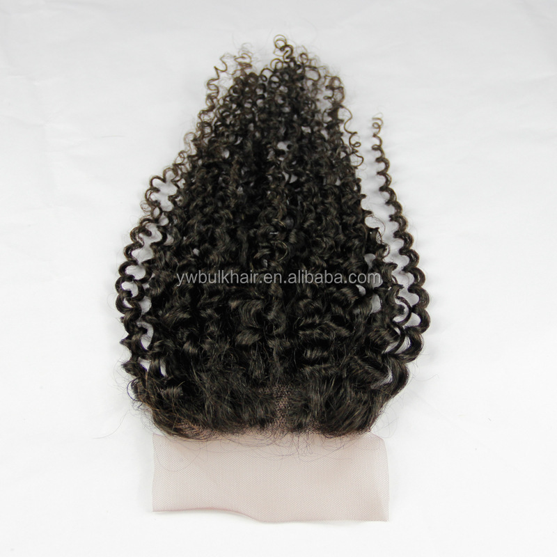 wholesale silk base lace closure 6x6 with bleached knots double or single swiss