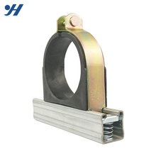 High Quality Steel Rubber Compression Pipe Clamp