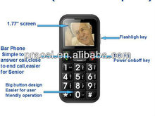 Arabic language senior sos cell phone quad band phone cheap