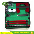 Novelty cheap Office mini golf set for promotion golf iron set and golf gift set