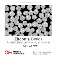 0.1mm zirconia beads for fine grinding
