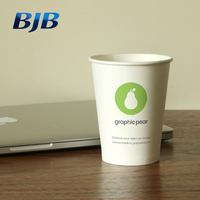 BJB china manufacturer design your logo hot coffee paper cup