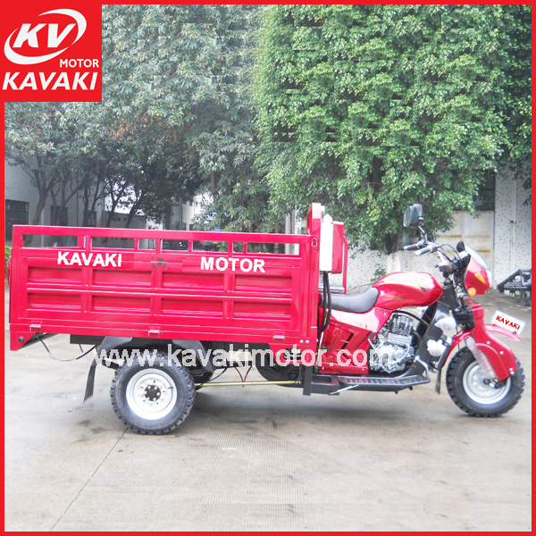 Guangzhou factory 200cc Automatic dump Tri motorcycle/ trimotos/ motor tricycle/ three wheel motorcycle