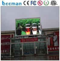 outdoor full color led video display screen led date time temperature display outdoor advertising led screen prices
