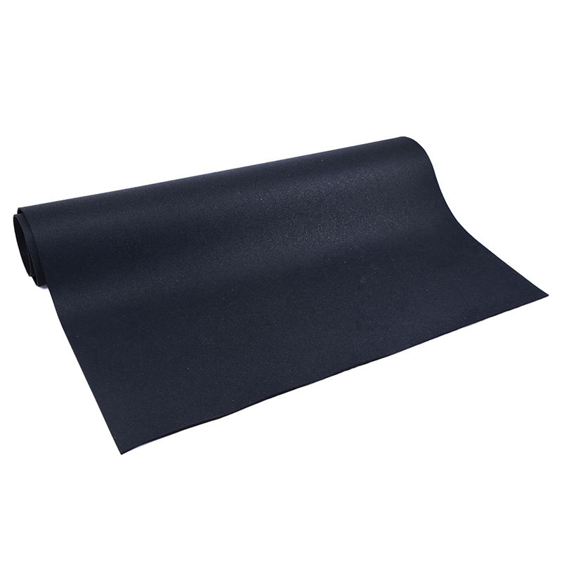 superior quality black non-toxic gym rubber mat for floor