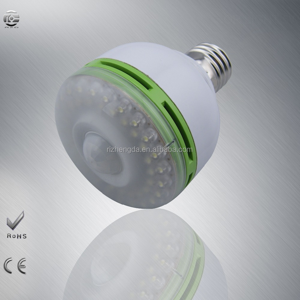 3W/6W E27 LED PIR Infrared infrared body sensor light 5730 SMD human induction Lamp Bulb AC90 - 260V Motion Detection Auto