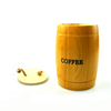 New Arrival Coffee Bean Storage Tank Pine Small Barrel Decoration Bucket