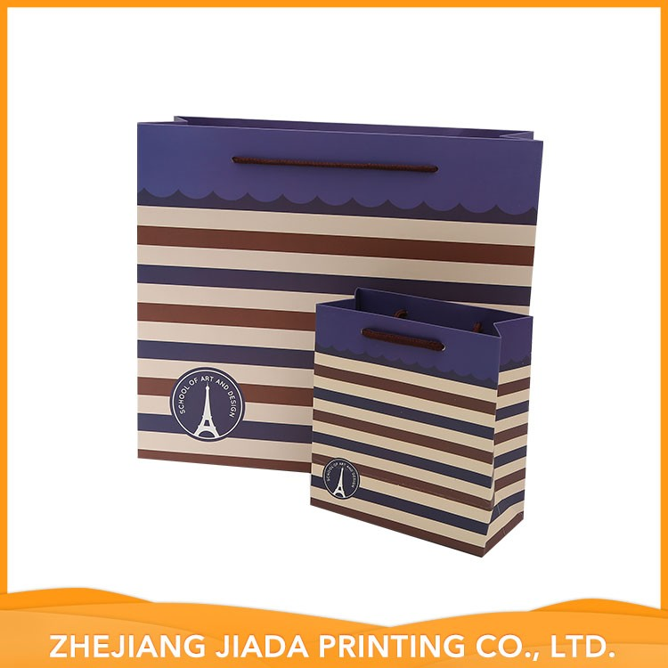 Accept Custom High Quality Durable Using Various Art Printed Paper Bag
