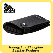 Alibaba Express Wholesale Price Custom Leather Credit Trading Card Case