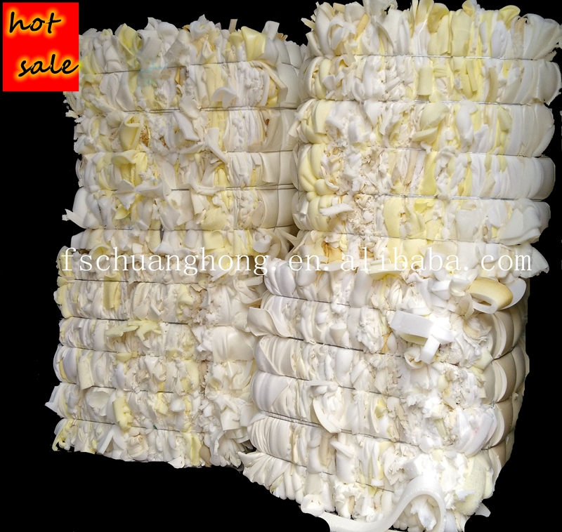 B Grade PU furniture foam scrap with 15% skin
