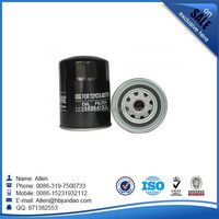 High quality black toyota hiace 5L engine parts car oil filter OEM 15600-41010