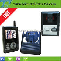 Video door bell with 2.4 inch Wireless video intercom system TEC3224P