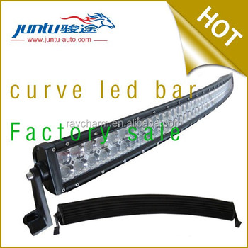 "240w 16800 lm 41.5"" double stack 10-30v DC white color IP67 Waterproof 240w curved led light bar"