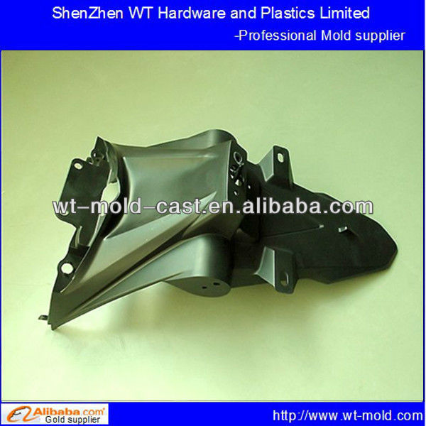 plastic injection motorbike mold