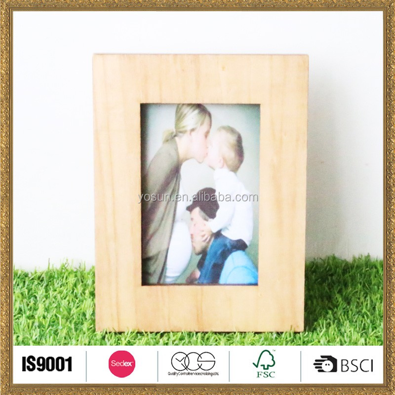 personalized wooden photo frame picture