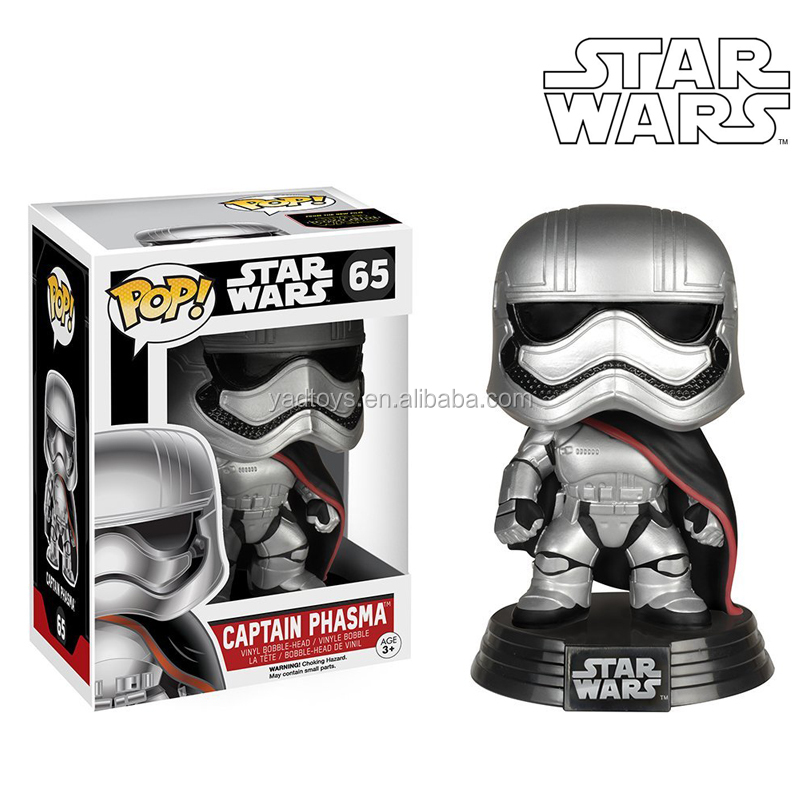 Starwar action figure pop toys New shape black knight funko pop toys