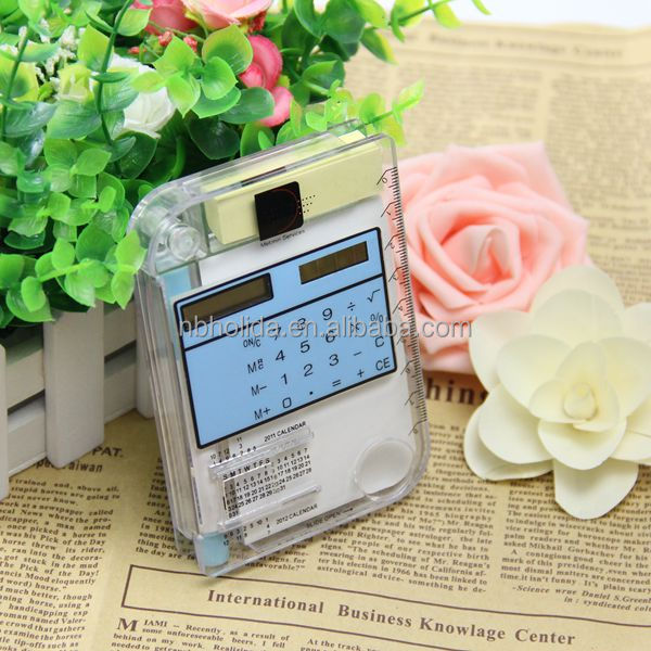 8-digit sticky note calculator for promotion gifts/ HLD-818