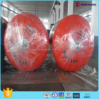 Kono factory produce Solid SPUA floating fenders, EVA foam filled cushion used for boat,warship,dock,SEA made in China
