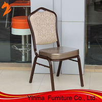 High quality aluminum banquet chair