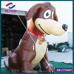 NB-CT3009 Ningbang cheap 2.5 M high fixed inflatable cartoon dog for outdoor