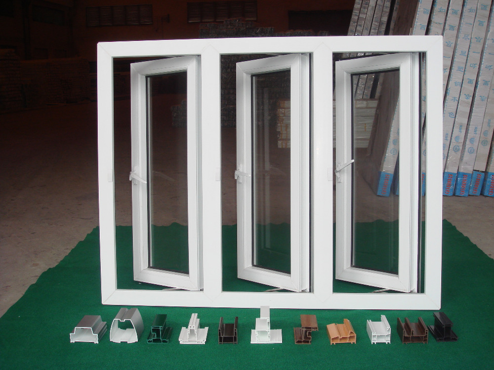 Factory direct pvc profile for window upvc profile upvc for Upvc window profiles
