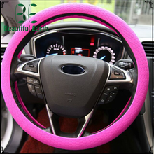 high quality car steering wheel cover , skidproof car steering wheel cover with needles ,H0T117 red car accessories