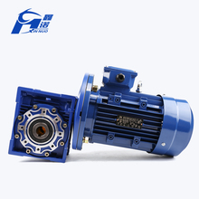 NMRV series 1/240 rpm 1 hp small electric motor with reduction gear box