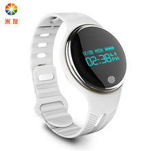 Swim/Ride/Music Bluetooth E07 Round face 360 Dial Sportwatch App GPS Run PK For Apple android Moto Android Smartwatch