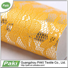 china supplier 1mm lace pattern pu coated raw leather for bag