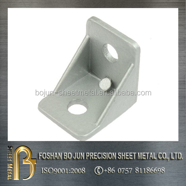 custom precision zinc plating sheet metal corner