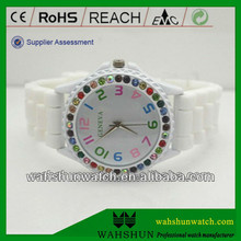 Customzied alloy mental band MK wrist watch 2013