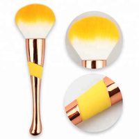 hot sale customized private label work travel 10 pcs rose gold makeup brushes new design makeup brush set