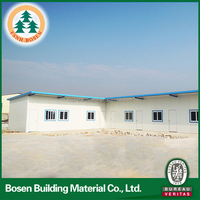 india hot selling prefab modular steel frame house