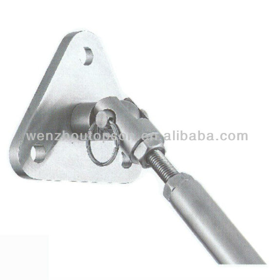 Stainless steel rear cantilever wall bracket/ glass canopy fittings/awning hardware